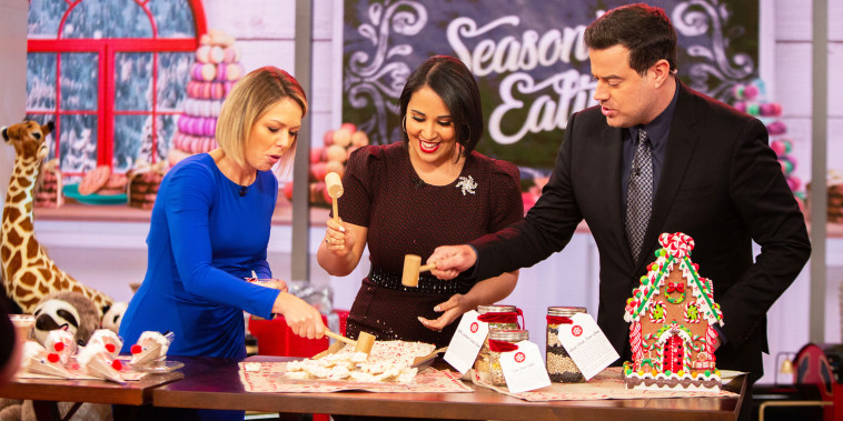 Alejandra Ramos shows Carson Daly and Dylan Dreyer how to make delicious gifts for friends and family.