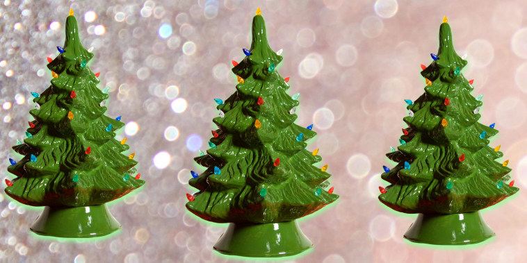 Your vintage ceramic Christmas trees could be worth a lot this time of year.
