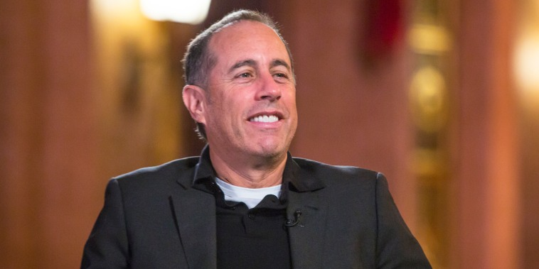 Jerry Seinfeld Willie Geist Sunday TODAY