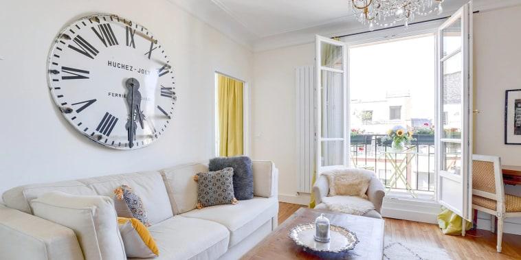 Kathryn Brown's Paris apartment