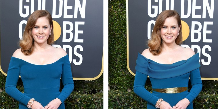 Amy Adams at the Golden Globes 2019