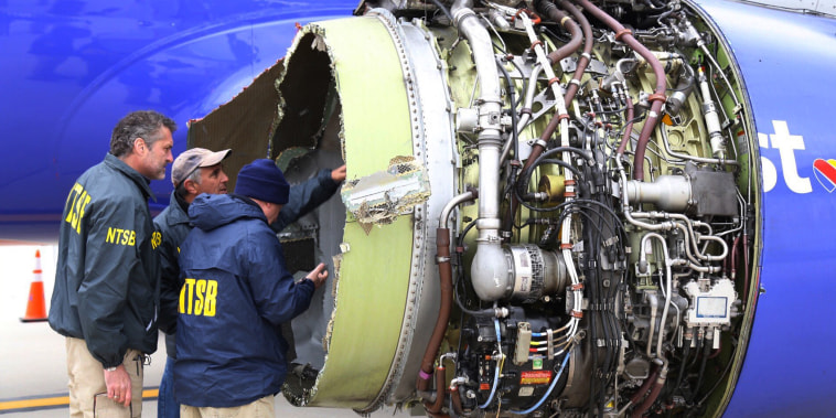 Image: Southwest Airlines engine