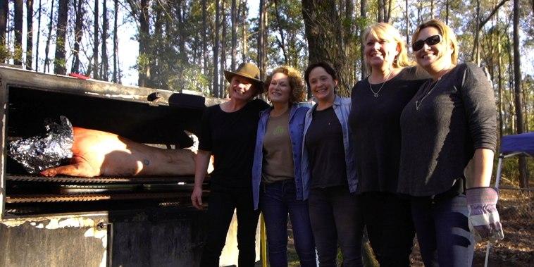 Women pitmasters in Charleston
