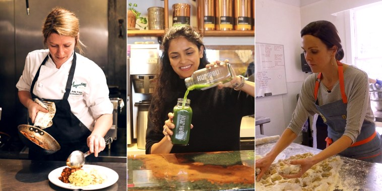 Female chefs in Charleston, South Carolina