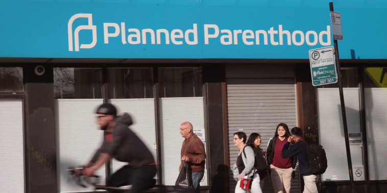 Image: Trump Administration Proposes Amendment That Would Prevent Planned Parenthood From Providing Abortions