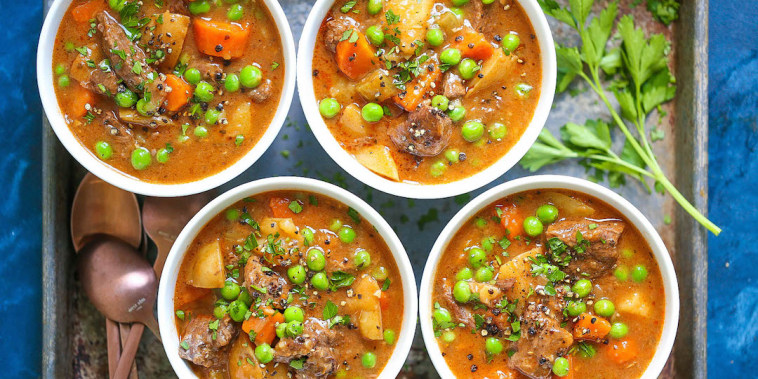 Chungah Rhee's Instant Pot Beef Stew is the perfect laid-back St. Patrick's Day Sunday meal.