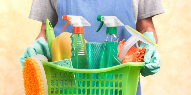 Cleaning expert Rachel Hoffman says we need to find the products that will make us more likely to clean.