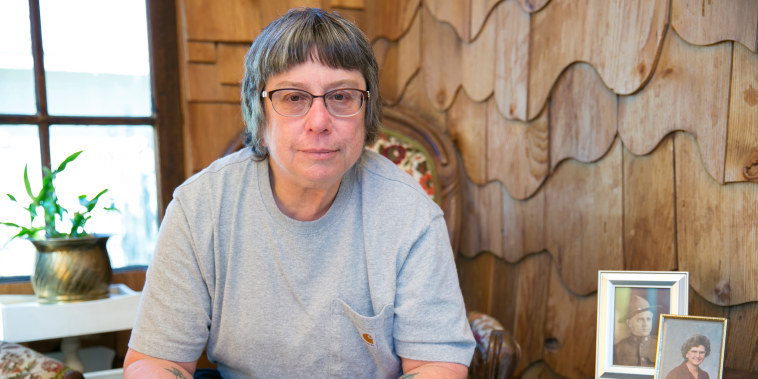 Image: Carol Holcomb lost her home in Paradise, California, to the Camp Fire on Nov. 8, 2018.