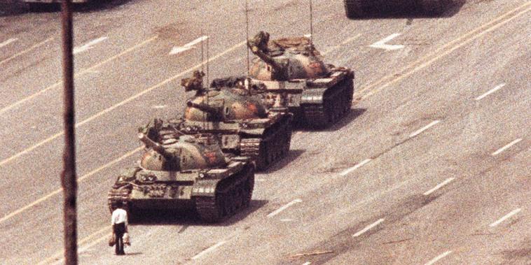 Image: Tank man, 1989 Tiananmen Square