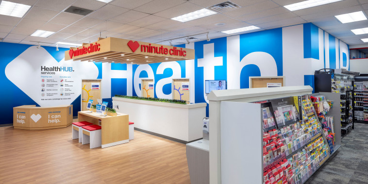 Image: A CVS HealthHUB location in Spring Texas