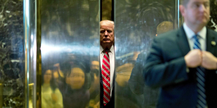 Image: Donald Trump elevator, Trump Tower