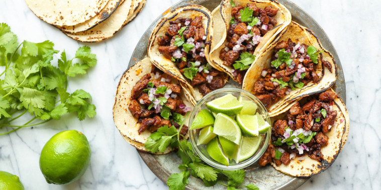 Mexican Street Tacos from Damn Delicious