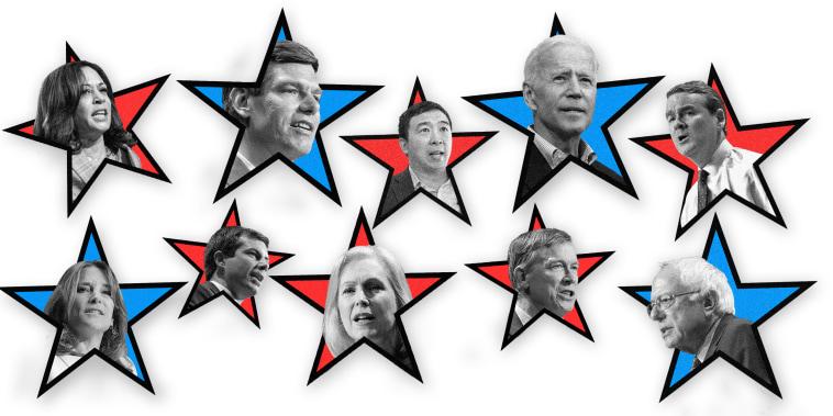 Image: Democratic debate night two