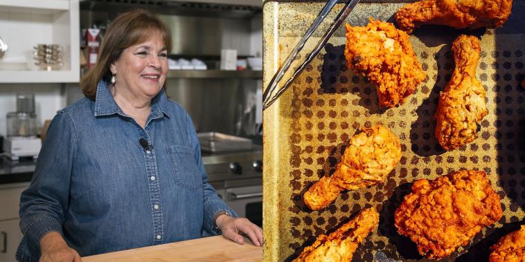 Ina Garten and fried chicken
