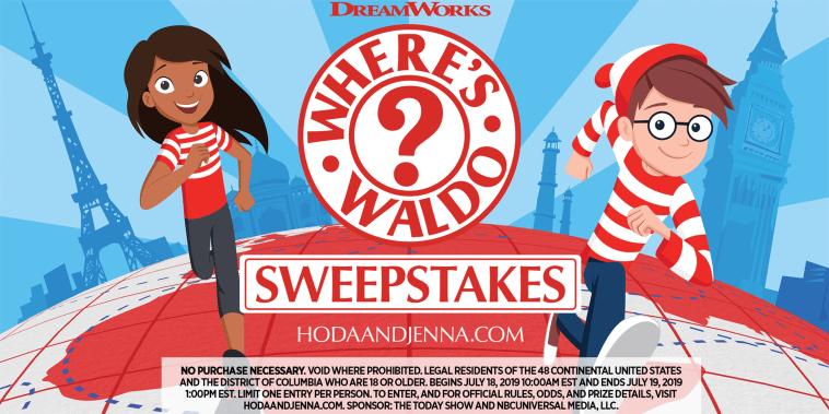 Where's Waldo sweepstakes
