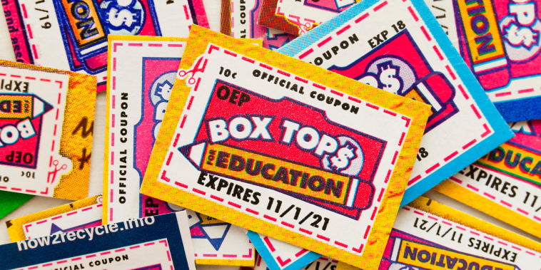Box Tops for Education coupons