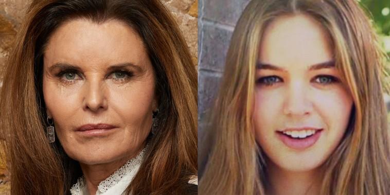 Maria Shriver, left, and Saoirse Kennedy Hill