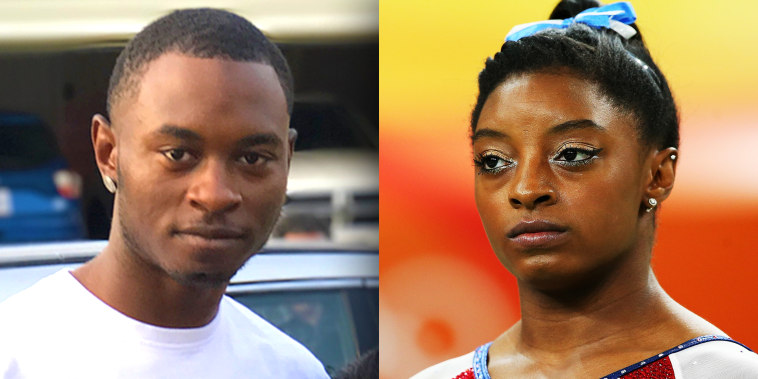 Simone Biles' brother arrested