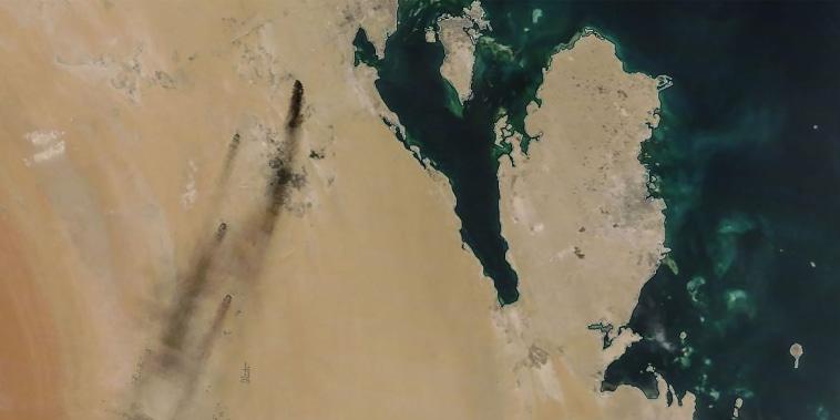Image: TOPSHOT-SAUDI-OIL-ENERGY-ATTACK