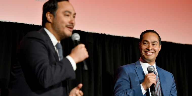 Image: The 2019 New Yorker Festival - Julian And Joaquin Castro Talk With Jonathan Blitzer