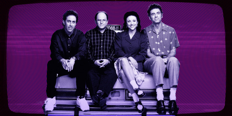 Image: Jerry, George, Elaine, Kramer and Newman lull me off to sleep. Is it as good for me as it feels?