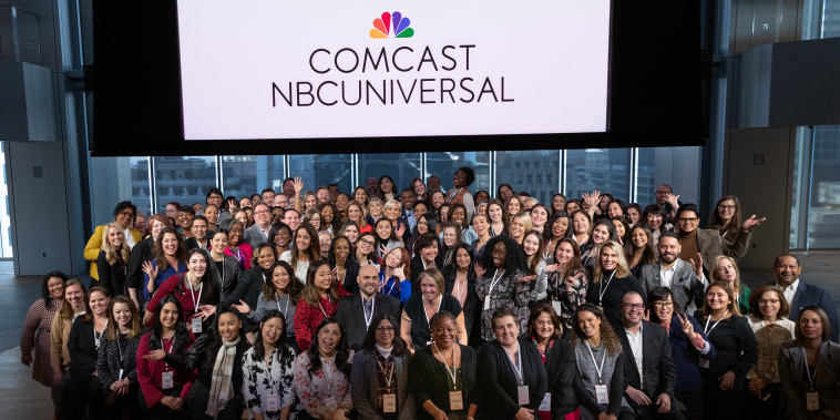 There were 100 NBCU employees selected out of a pool of 700 to attend the Know Your Value event on Tuesday.