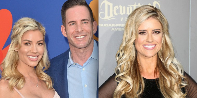 Heather Rae Young shot down claims that she's trying to make herself look like boyfriend Tarek El Moussa's ex-wife, Christina Anstead.
