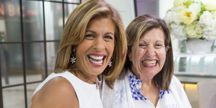 Image: The TODAY anchors are surprised by their mothers and sister in Studio 1A