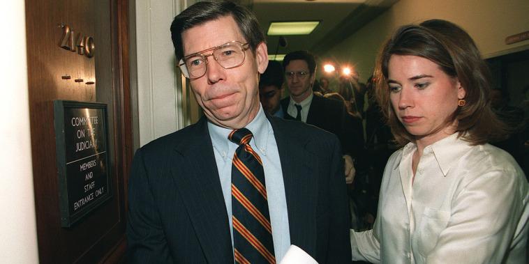House impeachment manager Rep. Bill McCollum, R-FL