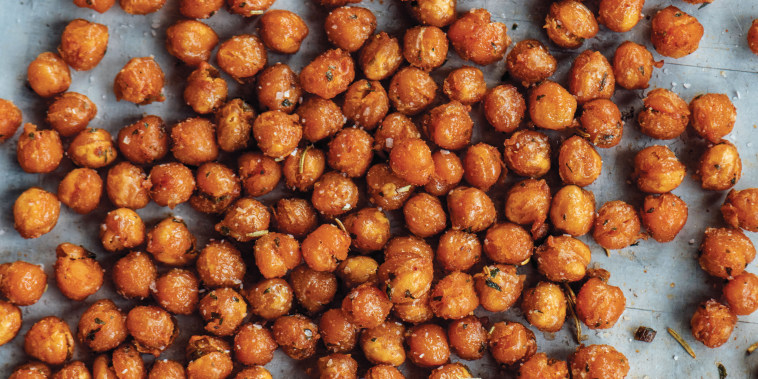 """Recipe developer Ben Mims says """"crispy chickpeas"""" recipes never lived up to their promise until he cooked them in the air fryer."""