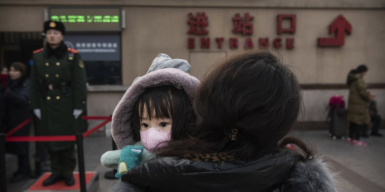Image: Concern In China As Mystery Virus Spreads