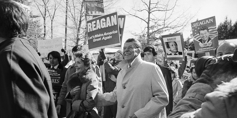 Presidential Candidate Ronald Reagan
