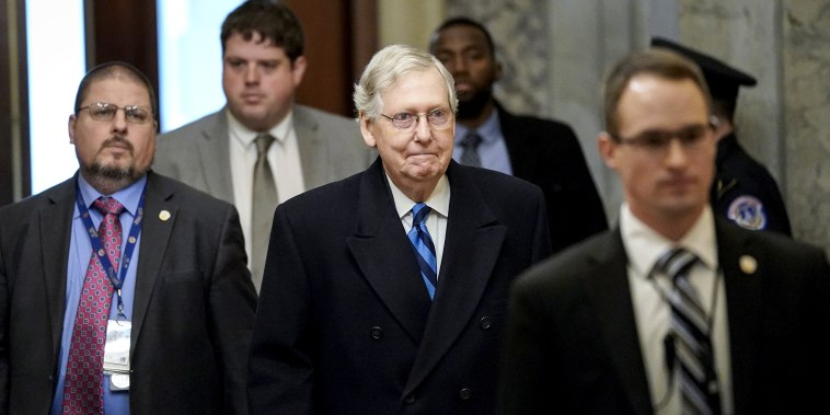 Image: Senate Impeachment Trial Of President Trump Continues
