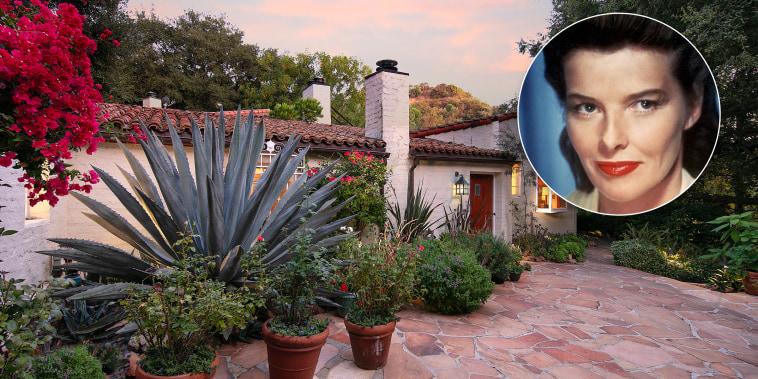 Katharine Hepburn's Hollywood hacienda hits the market
