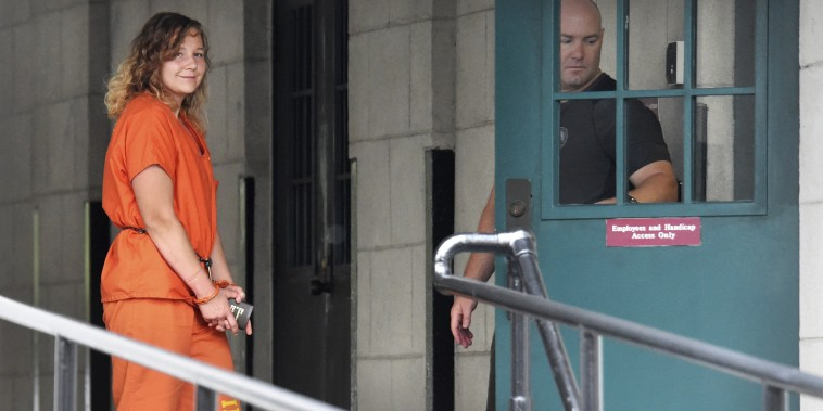 Image: Reality Winner arrives at a courthouse in Augusta, Georgia
