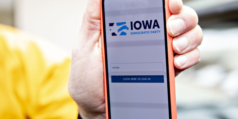 Iowa Caucus Meltdown Tied To Democrats' Little-Tested App