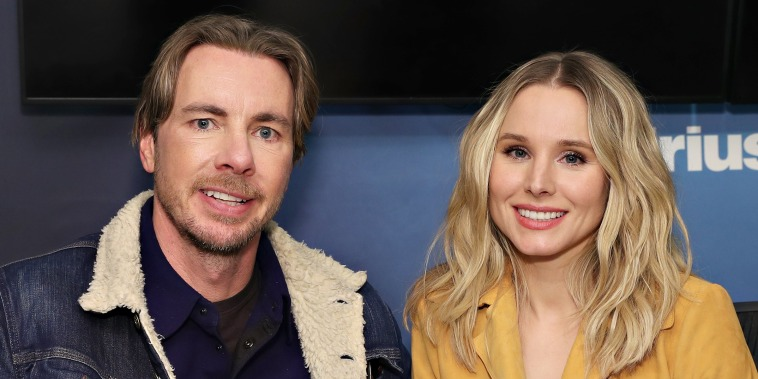 Image: Kristen Bell and Dax Shepard