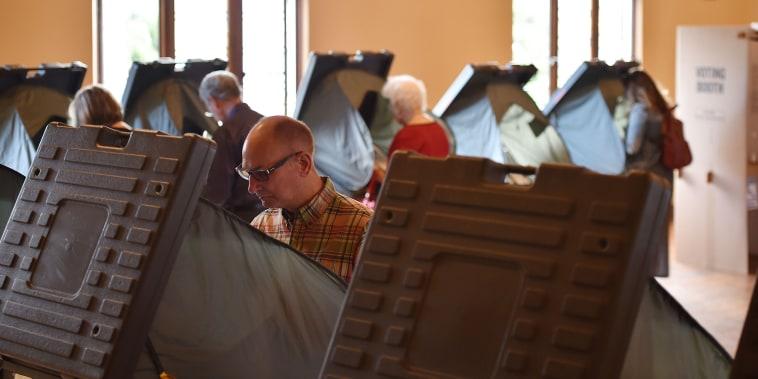 Image: West Virginia vote