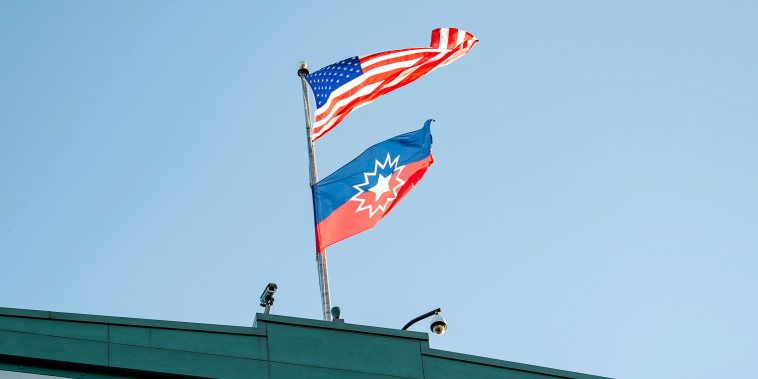 Image: Juneteenth Flag At Fenway Park