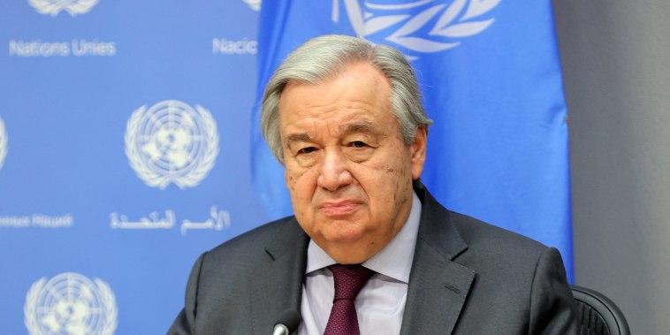 Image: Antonio Guterres