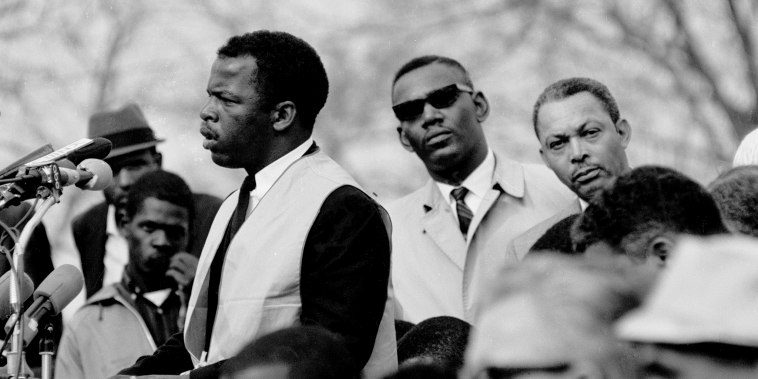 John Lewis At Montgomery State Capitol