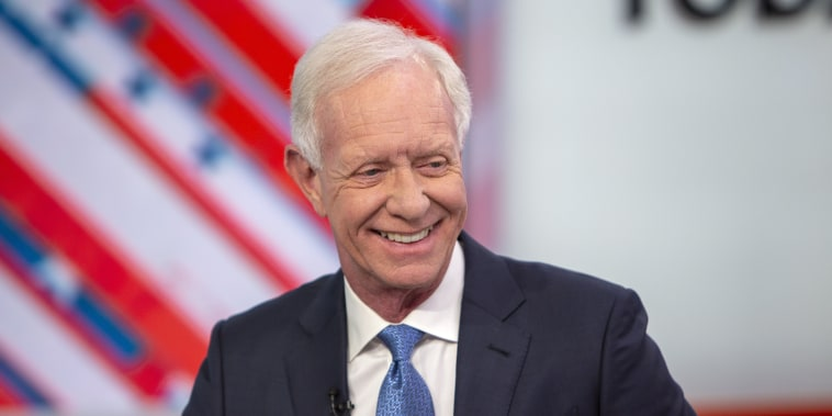 """Chesley \""""Sully\"""" Sullenberger appears on NBC's \""""TODAY\"""" show on Feb. 21, 2019."""