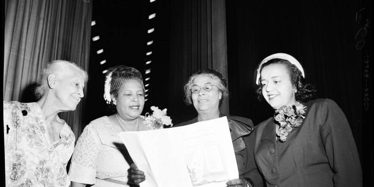 National Association of Colored Women, 1952