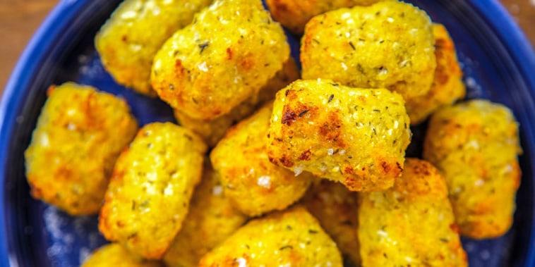 Air-Fryer Cauliflower Tots