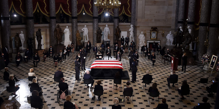 Image: Ruth Bader Ginsburg lie in state Capitol