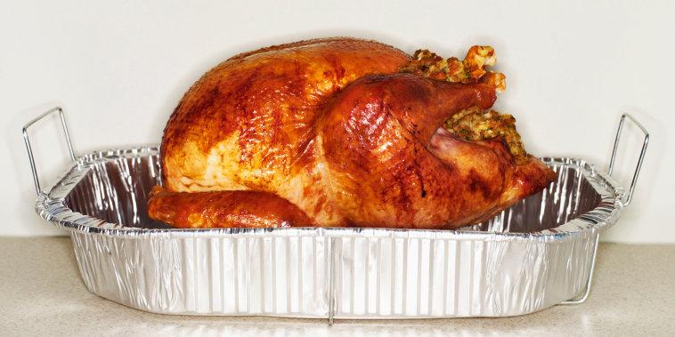 Turkey in Roasting Tin