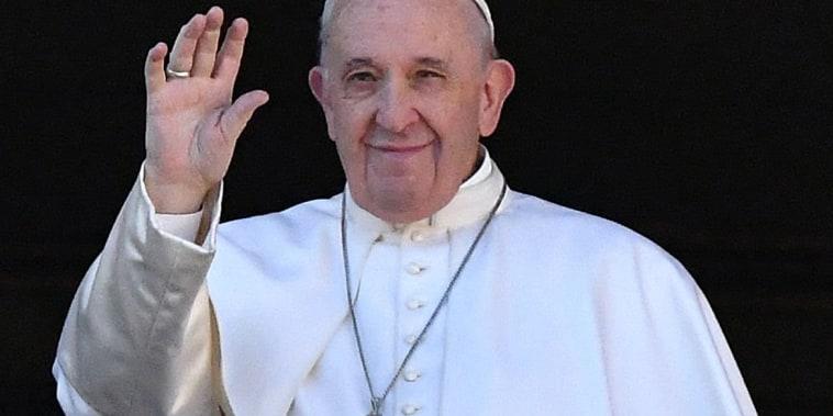 Image: FILES-VATICAN-POPE-CHRISTMAS-URBI-ORBI