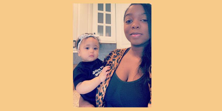 Graca Walters and her toddler, Zuri