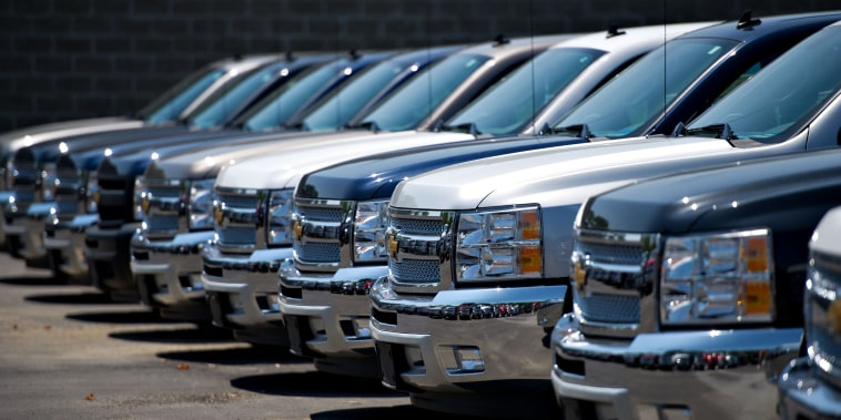 Views From An Auto Dealership Ahead Of General Motors Co. Earns Figures
