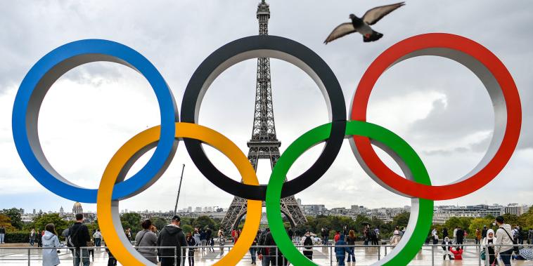 Olympics Rings in Paris